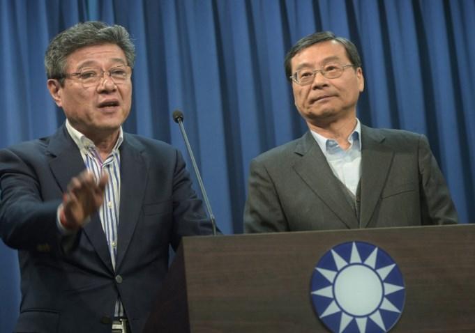 国民党败选 吴敦义率团总辞 林荣德接任代理党主席