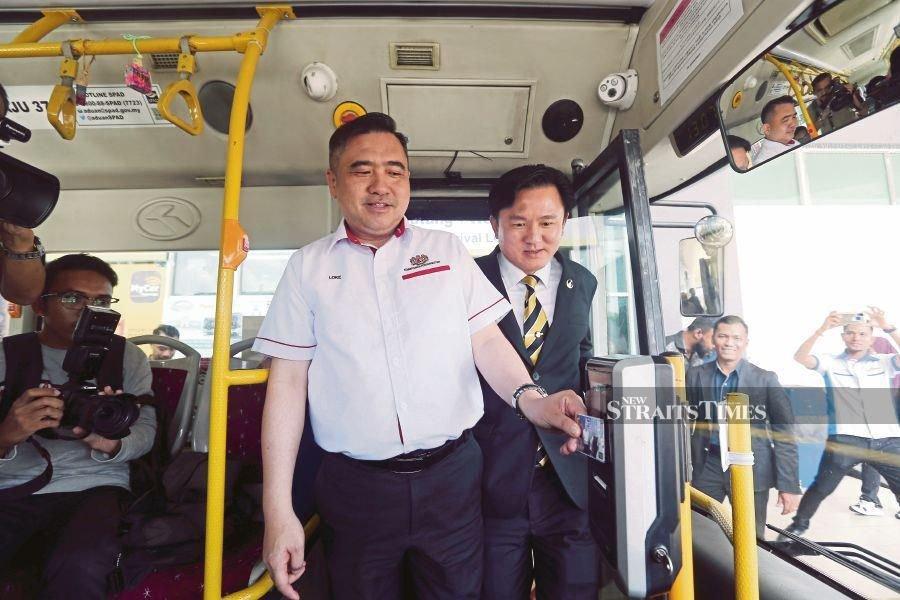 Be like myBas Ipoh, go cashless, Loke tells bus service providers