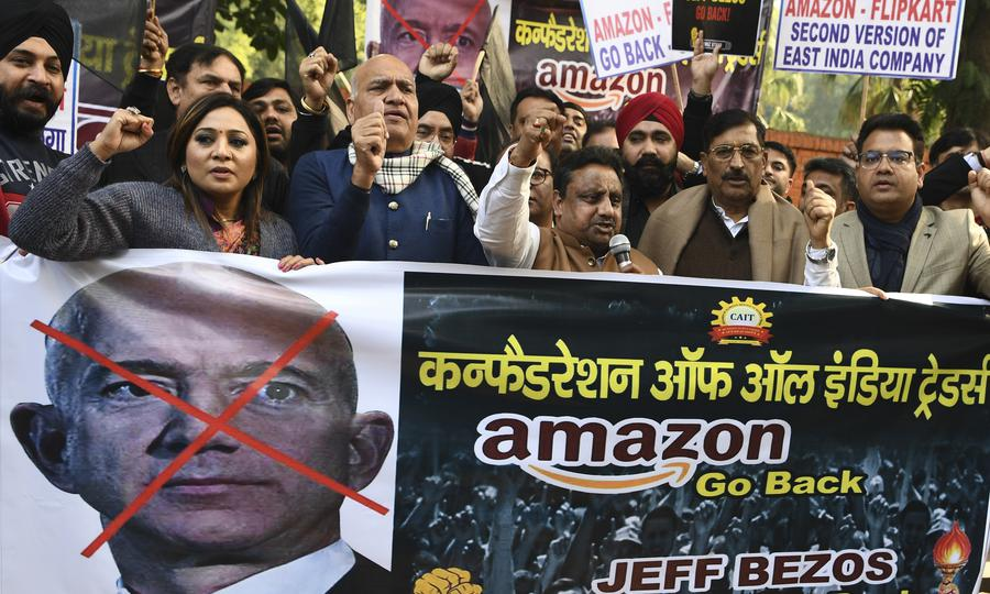 Bezos promises $1bn in Indian e-commerce storm