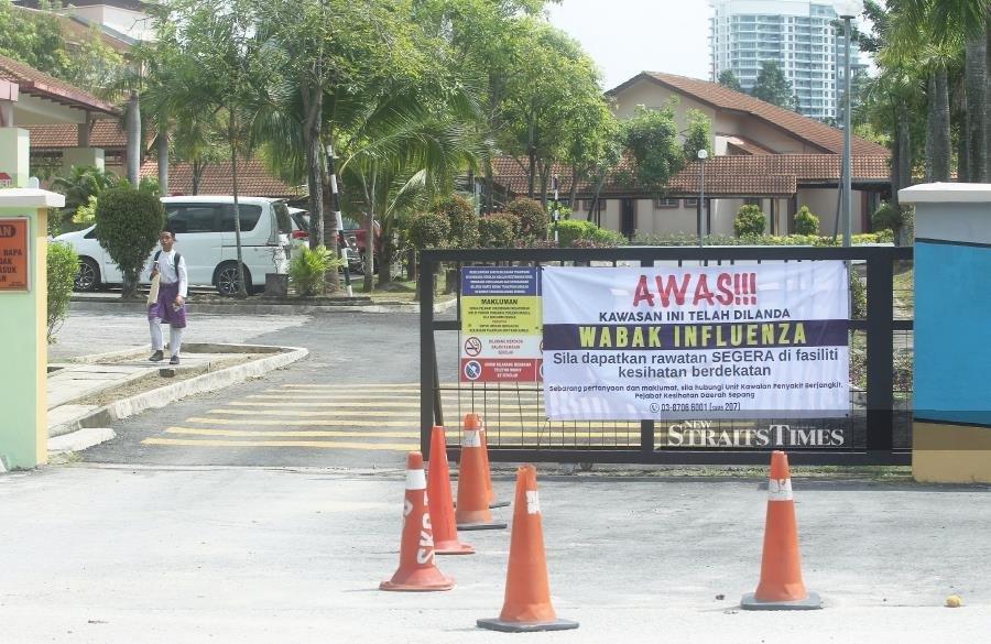 New Influenza A cases reported in Negri Sembilan
