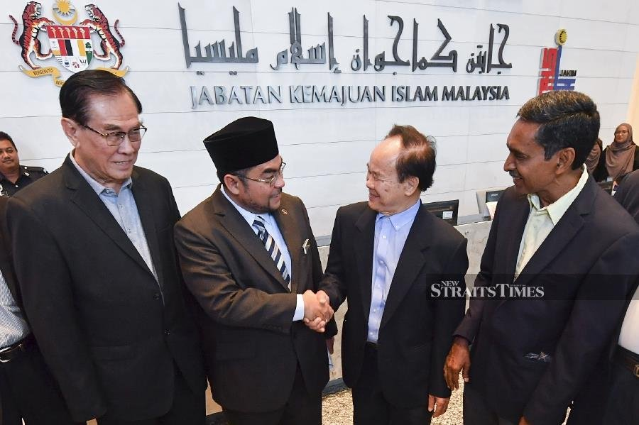 Dong Jiao Zong admits learning jawi not a process of islamisation - Mujahid