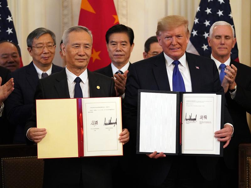 新华社:中美签首阶段协议不意味一劳永逸