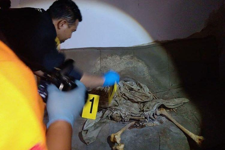 Human skeleton found sitting on couch in deserted house in Bandung