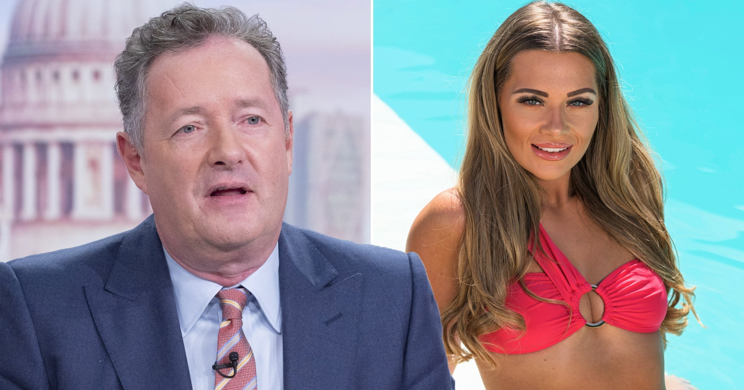 Piers Morgan says it's 'awks' that Love Island's Shaughna likes him as he brands contestants 'brain-dead zombies'