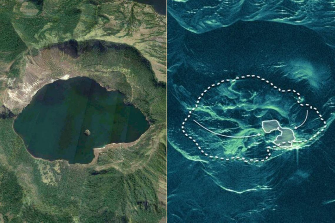 Taal eruption: Lake that filled crater of Philippine volcano has almost completely disappeared