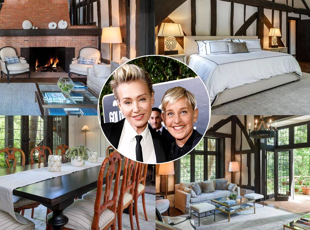 Ellen DeGeneres' New $3 Million Home Is Straight Out of a Fairy Tale