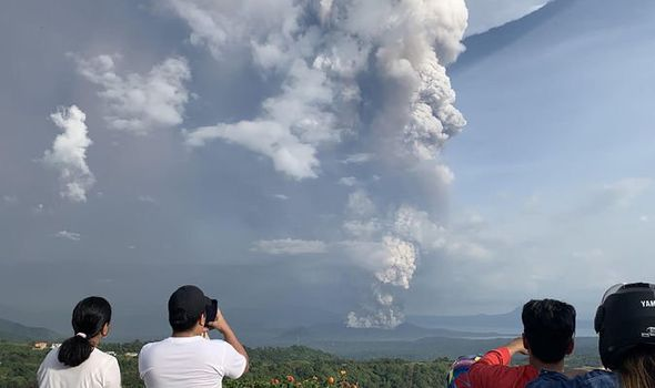 Taal volcano: Deadly eruptions continue to rock Philippines leaving 500,000 citizens home