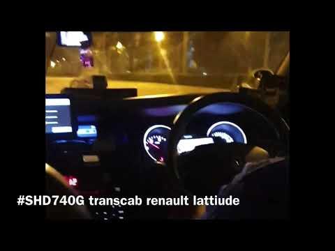 transcab renault lattiude enjoying his show from sentosa till compassvale bow