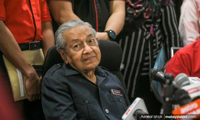 若希盟持续内讧,马哈迪警告或成一届政府