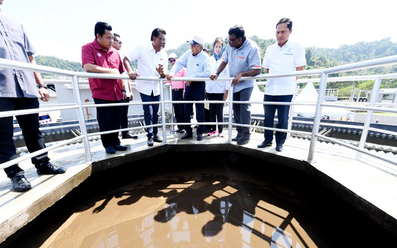 New way to treat sewage efficiently being tested in Langkawi