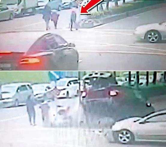 过马路遇车祸发生 12岁女被波及遭勐撞亡