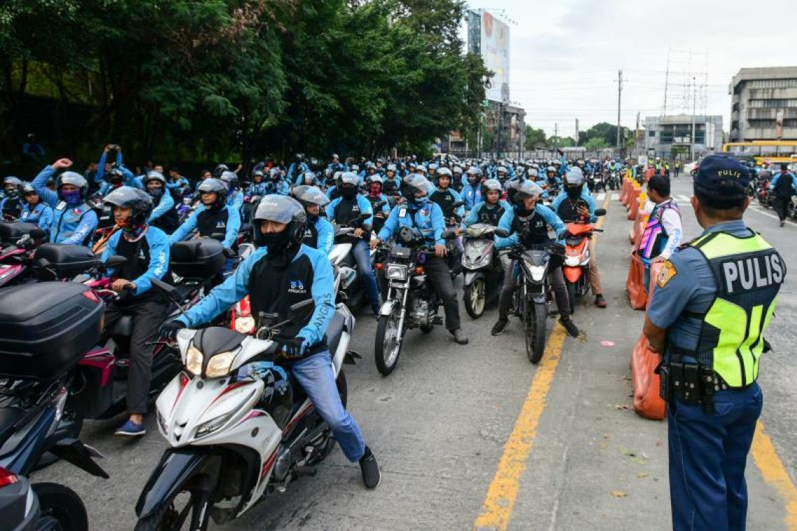 Philippine officials seek to shut down motorcycle ride-sharing firm founded by Singaporean