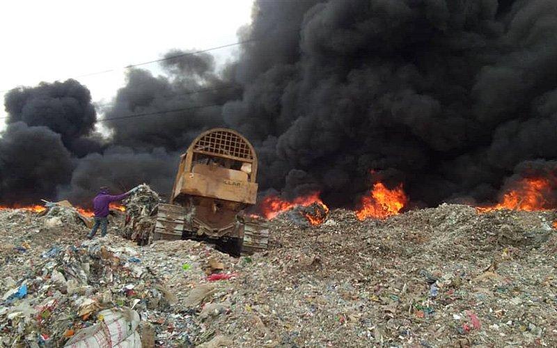 Firefighters battle raging flames in Kedah waste dump