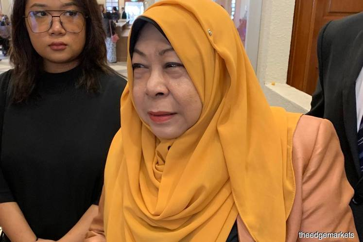 Former spy chief Hasanah files representation to Attorney-General