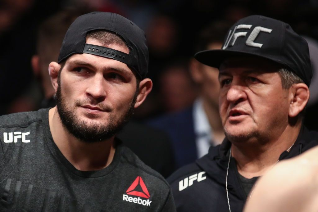 UFC star Khabib Nurmagomedov confirms father is in 'critical condition' after contracting coronavirus