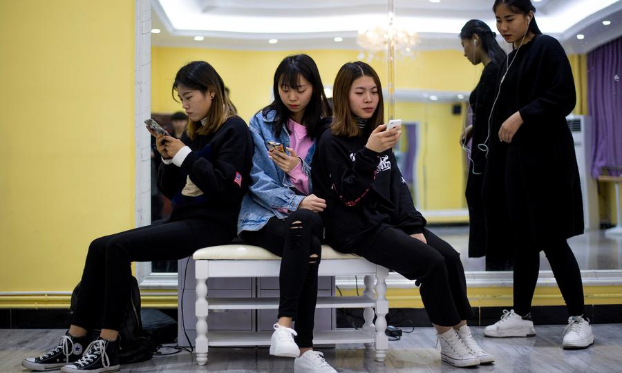 China's warning to the 'zombie' generation
