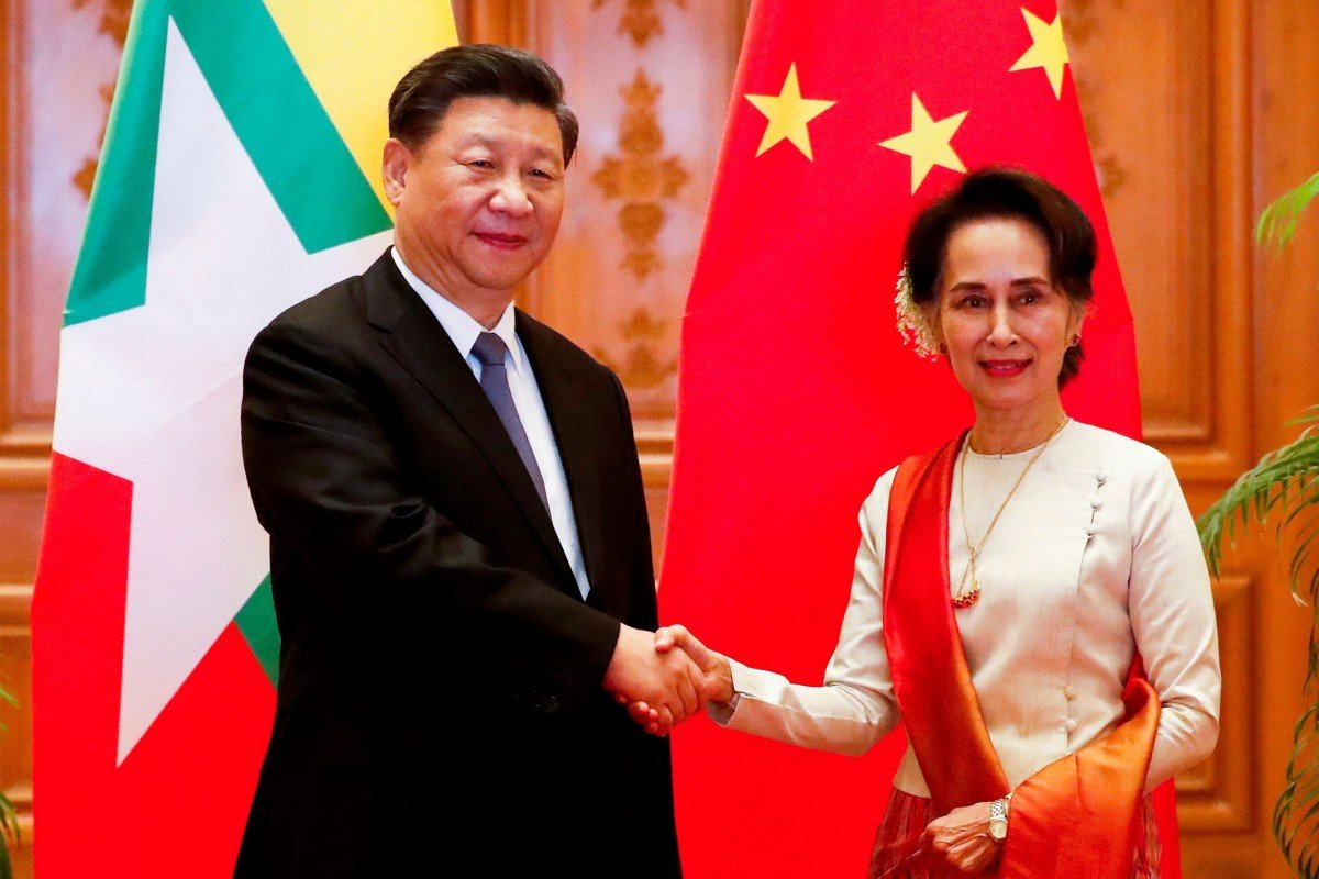 China and Myanmar's growing closeness could help forge united front against international critics