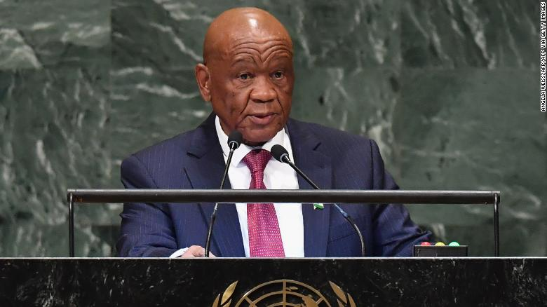 Lesotho former PM and wife paid criminal gang to execute his estranged wife, court papers say