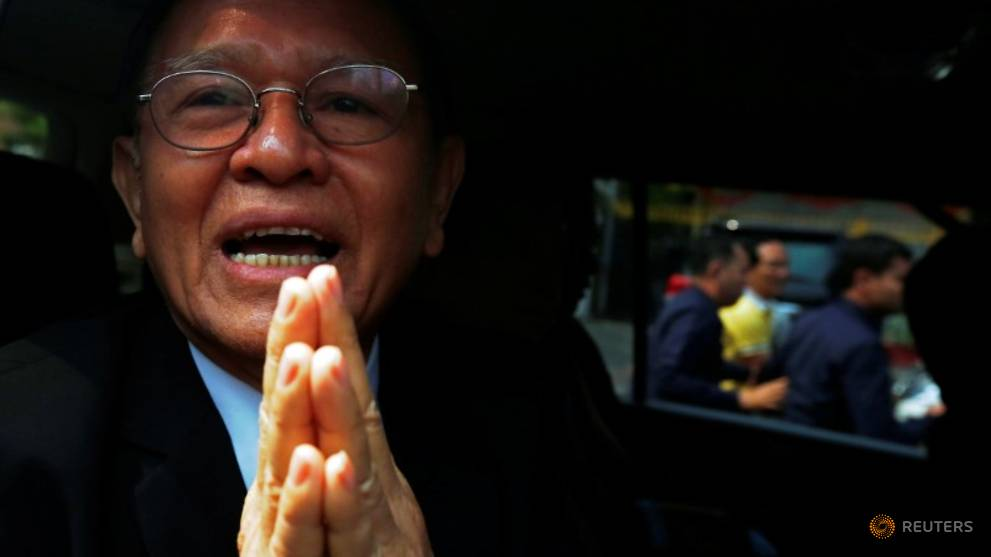 Cambodian opposition leader admits US funding, denies overthrow plot