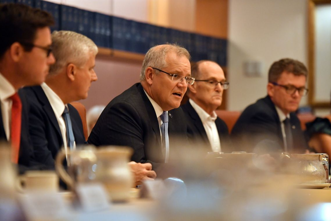 Australian PM Scott Morrison says removing hazards as important as reducing emissions