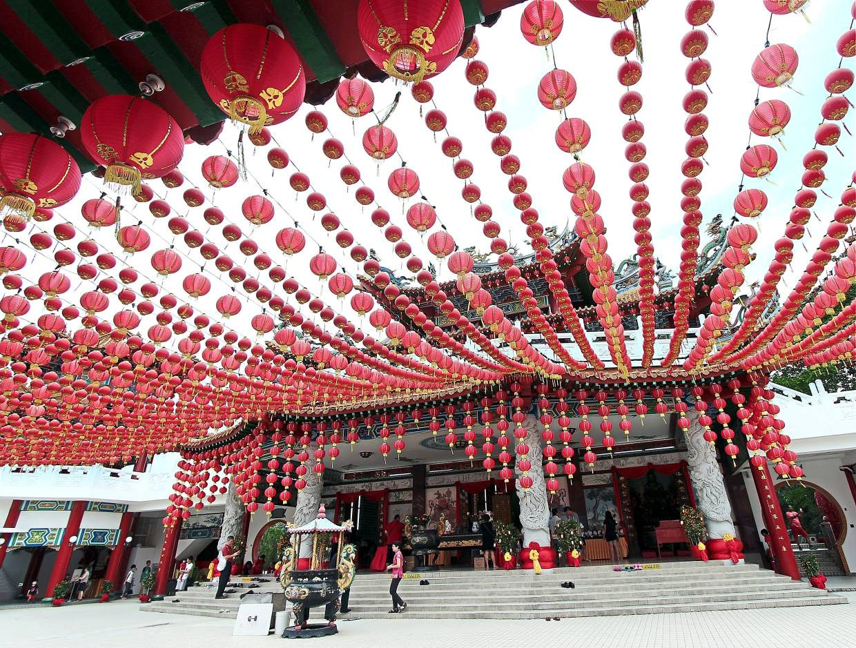 What to do at Thean Hou Temple in KL during Chinese New Year