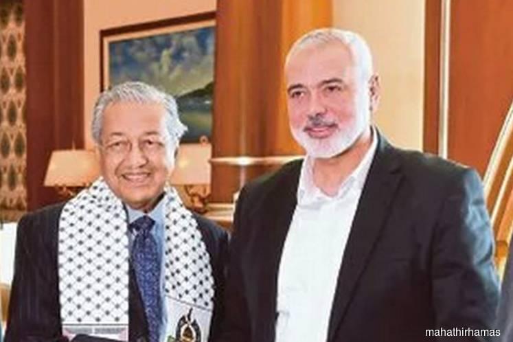 Tun Mahathir receives courtesy call from Hamas leader Ismail Haniyeh