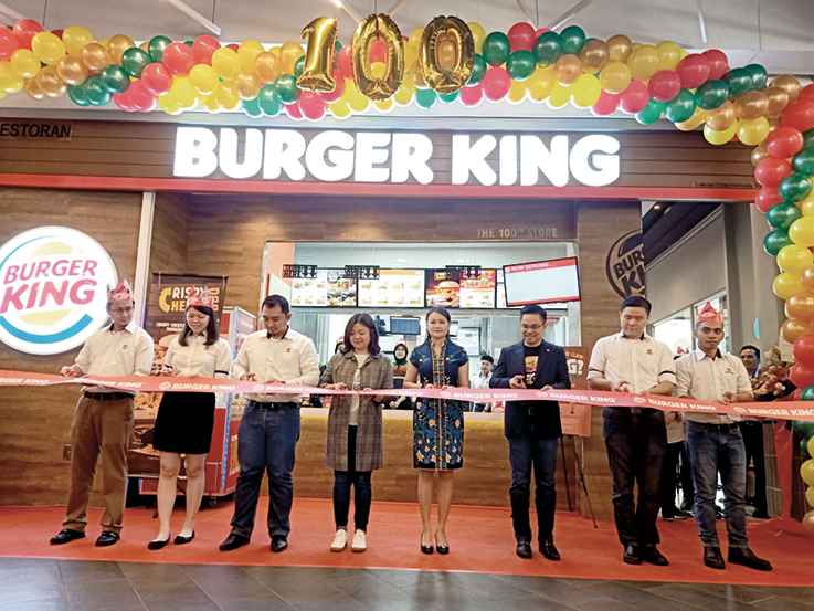 Burger King Malaysia opens 100th store, introduces immersive garden grill concept