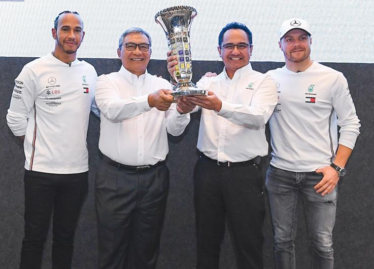 Mercedes-AMG Petronas F1 2020 Mens Team T-Shirt