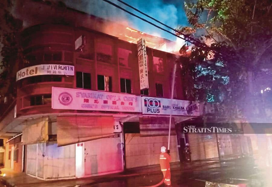 Kuantan blaze: 'Shop house was illegally modified into rooms'
