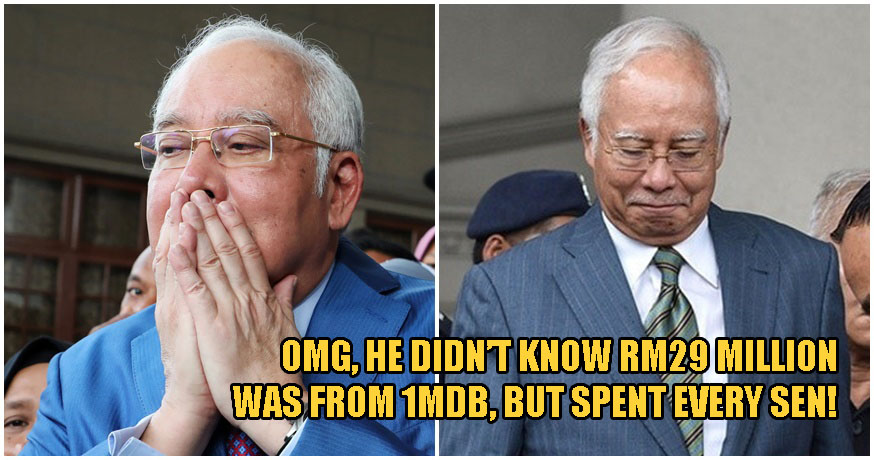 Najib: I Spent Every Sen of RM33 Million, But Didn't Know It Came From 1MDB