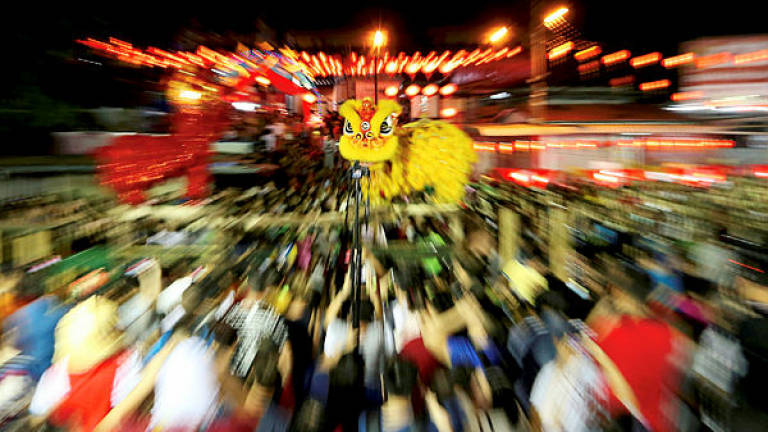 Keeping the lion dance tradition alive