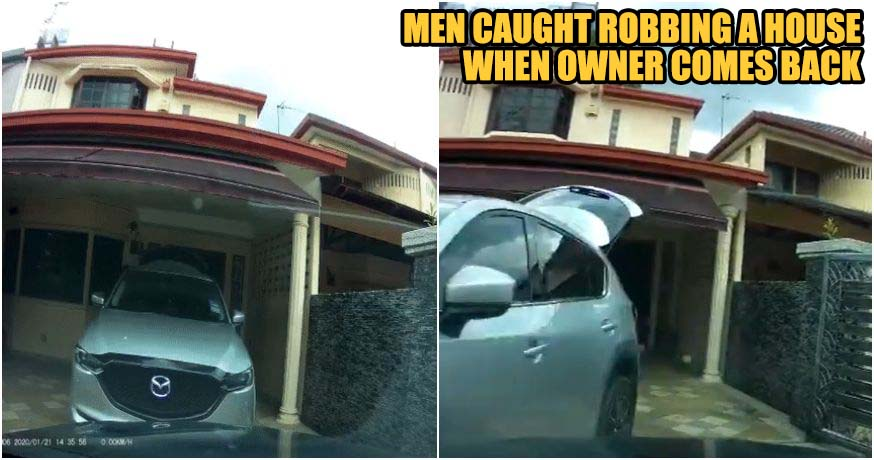 House Robber Violently Rams M'sian Man's Car To Escape After Being Caught Red-Handed