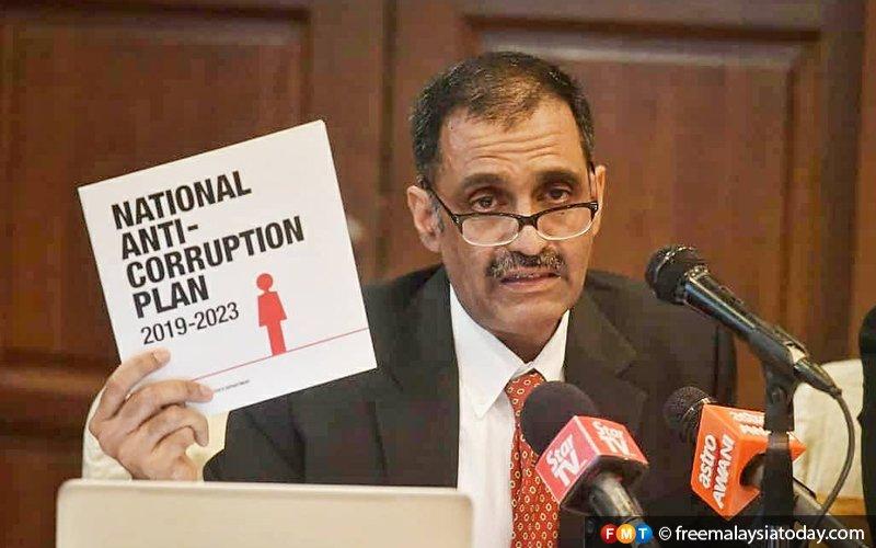 Malaysia jumps 10 spots in corruption perception index