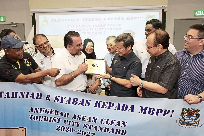 Council wins Asean Clean Tourist City Standard award again