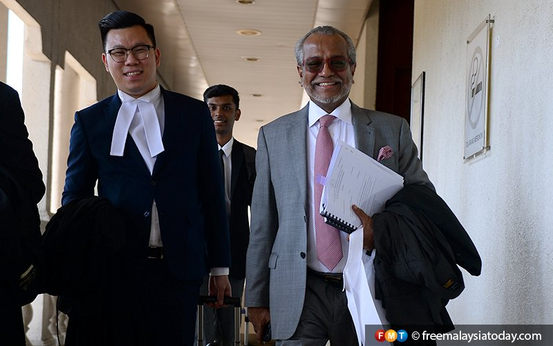 Govt trying to make Najib a bankrupt over unpaid taxes, says lawyer Shafee