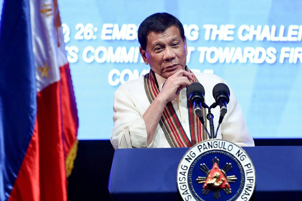 Philippines' Duterte threatens to end US military pact