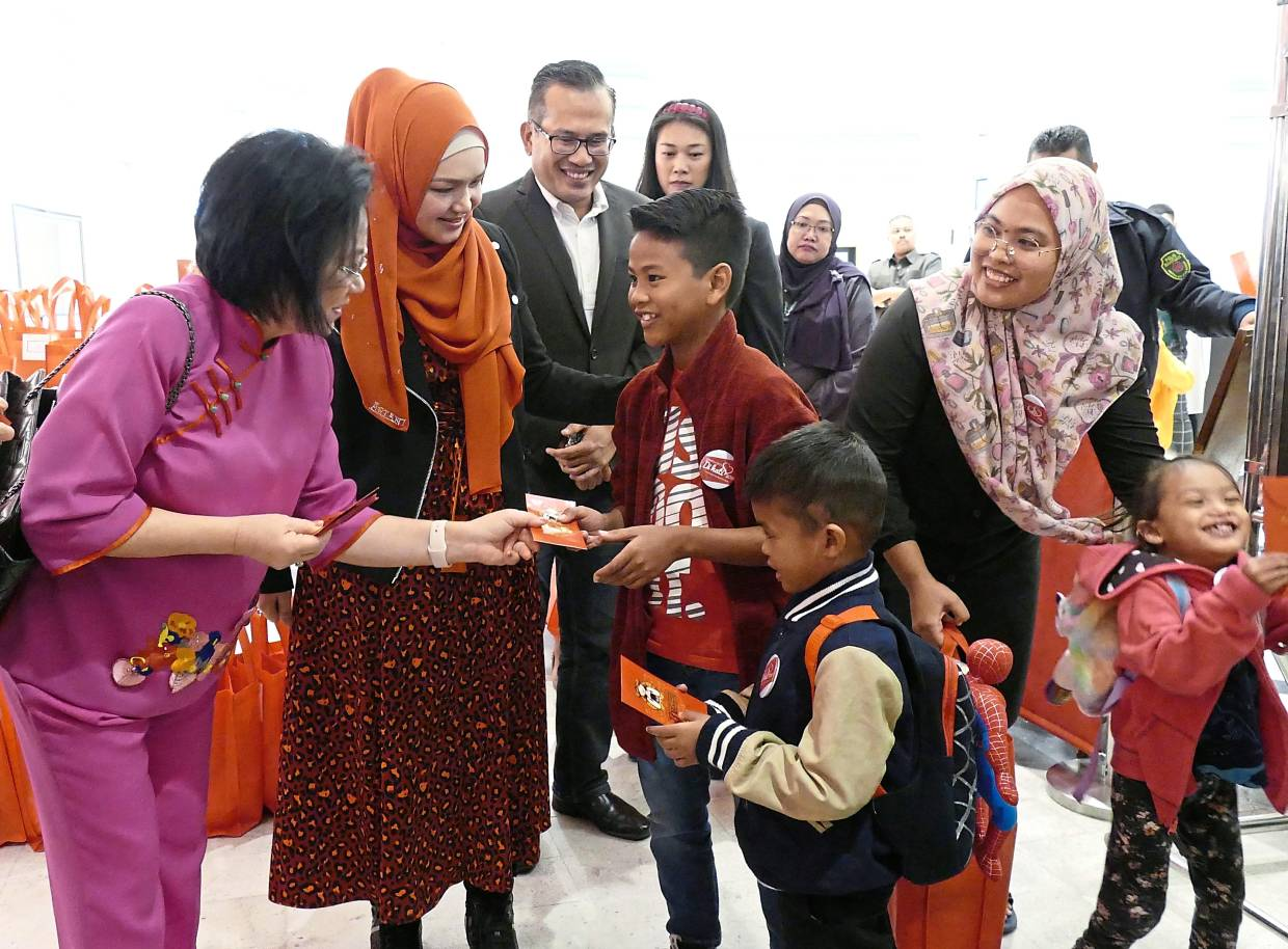 Heart-warming experience for young patients