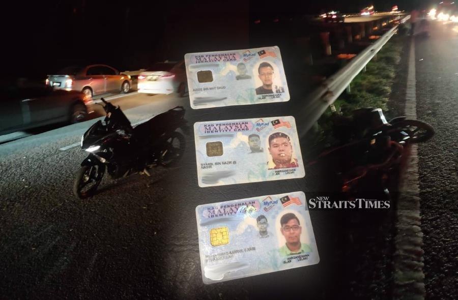 3 killed, 2 seriously hurt in 5-motorcylcle crash near Kuantan