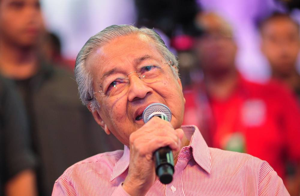 Dr M urges more rural people to venture into business