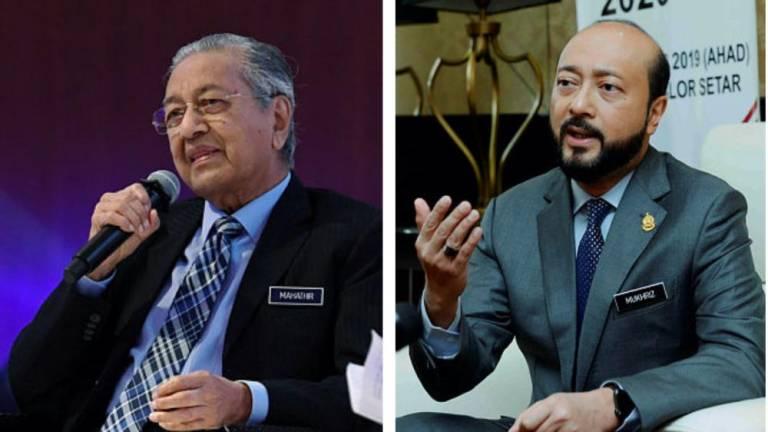 Mahathir, Mukhriz retain Bersatu division chief posts uncontested