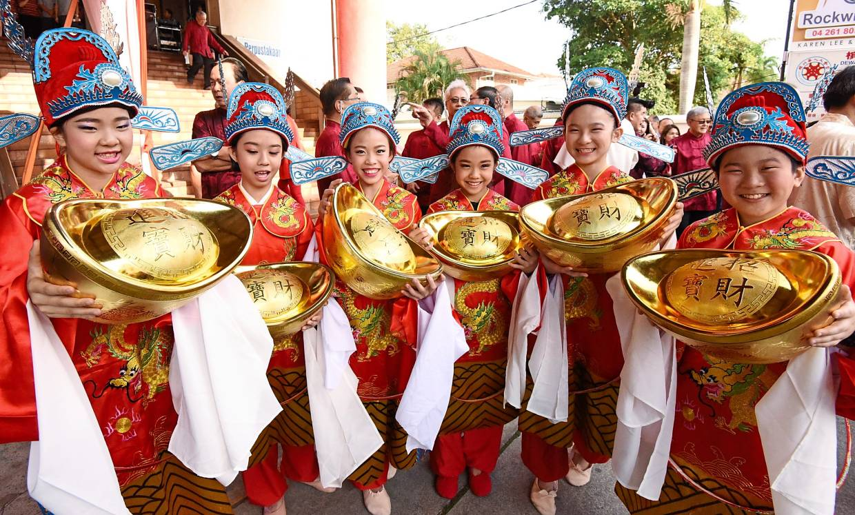 Traditional way of welcoming Lunar New Year