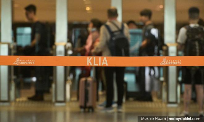 武汉疫病:40留学生从北京返马,居家隔离2周