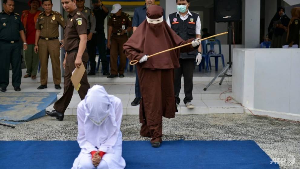 Indonesia's Aceh unveils new female flogging squad