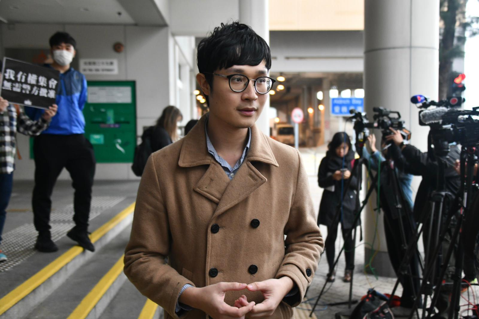 【修例风波】刘颕匡被控煽惑他人参与非法集结等两罪 获准保释