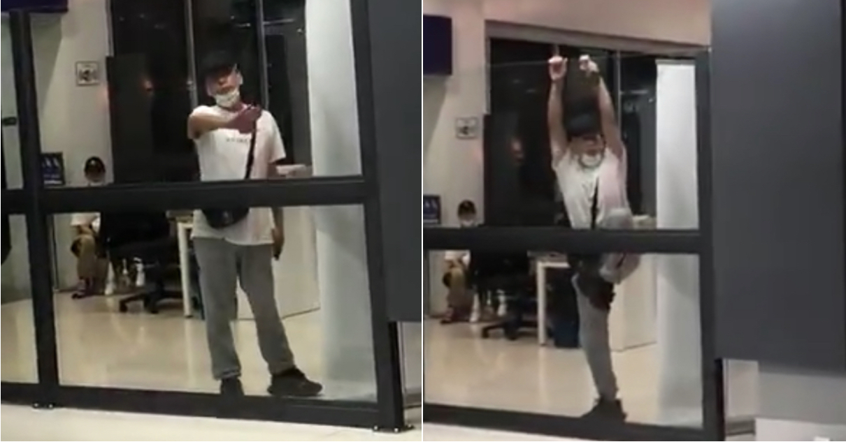 China Tourist Allegedly Tries To Climb Over Screening Wall At Senai Airport