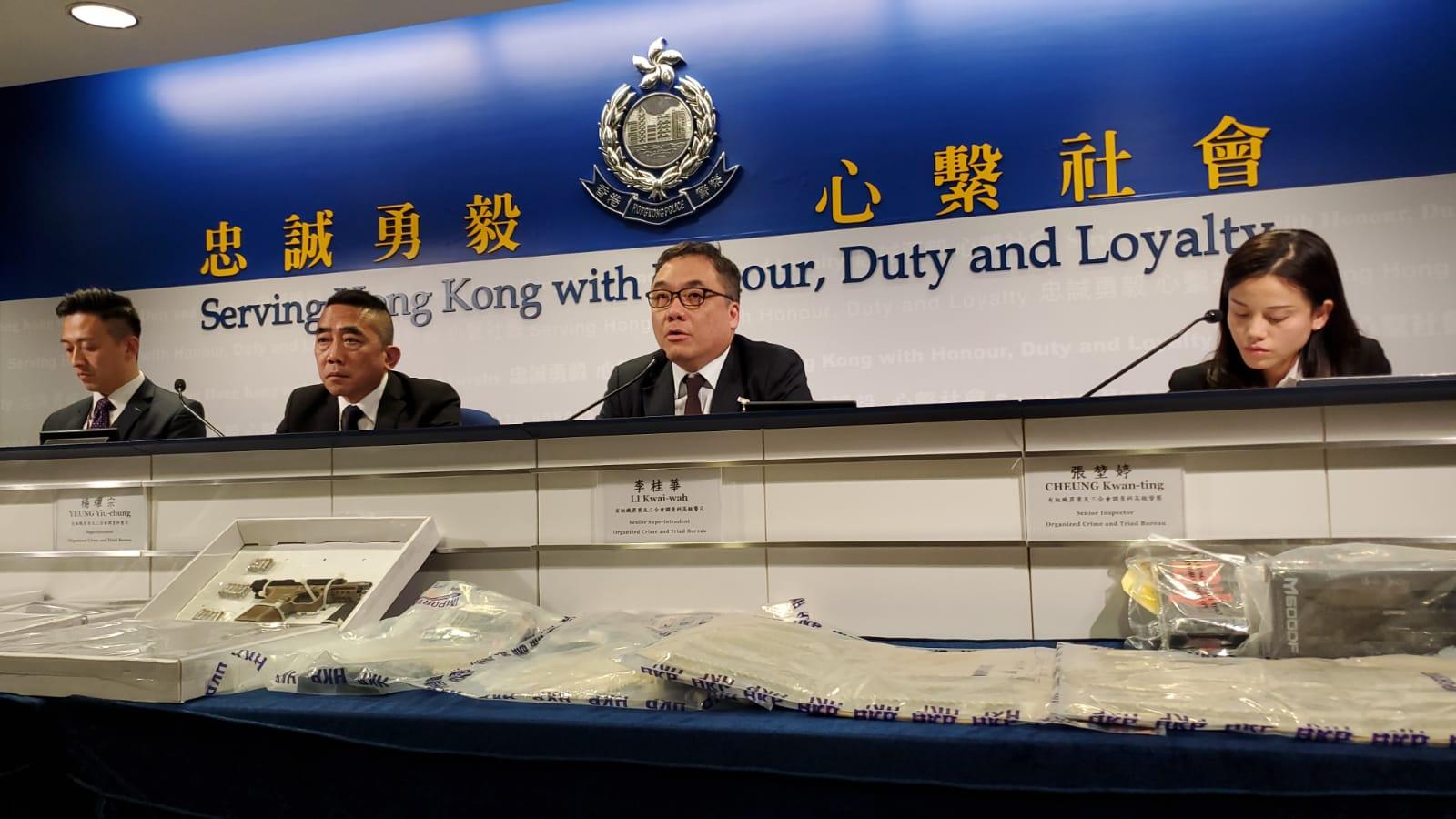 警检手枪92发子弹 被捕男子涉装嵌分发集团