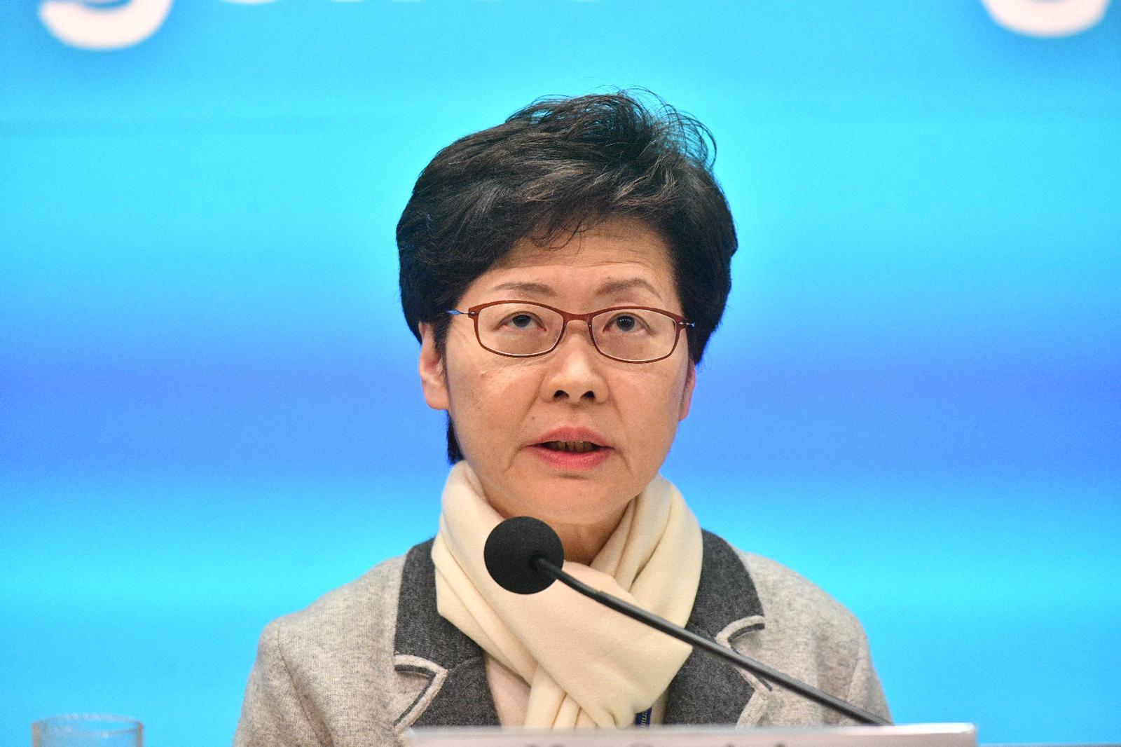 【新冠肺炎】林郑月娥宣布6大防疫措施 中小学延迟至2月17日復课