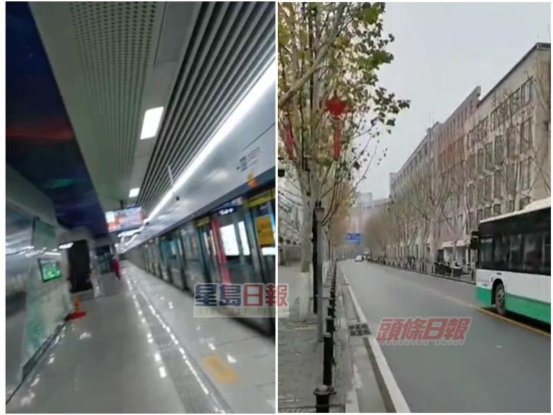 【新冠肺炎】犹如空城 在武汉港人:地铁购物区人烟罕至