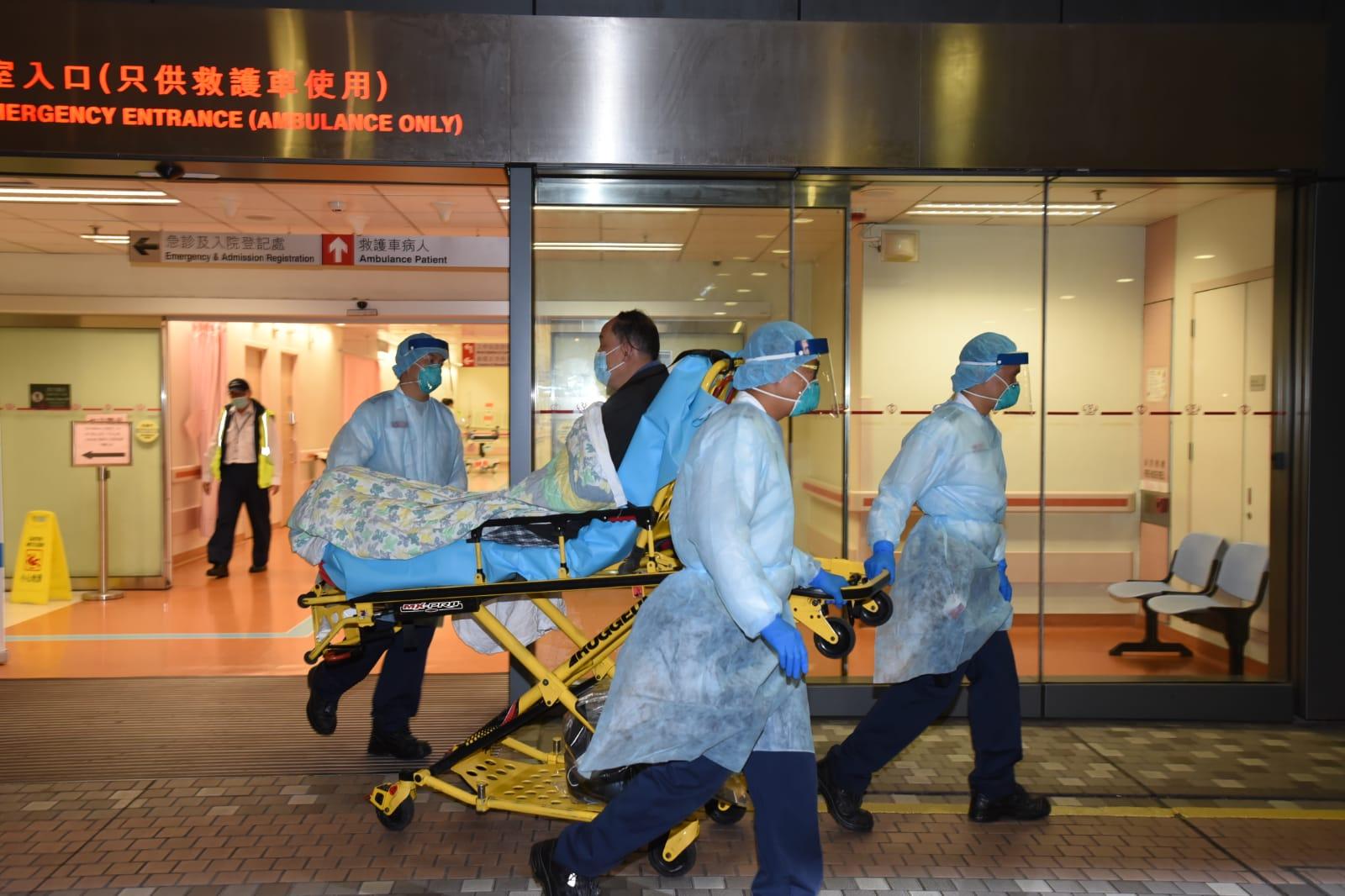 【新冠肺炎】56岁港人疑成第二宗确诊个案 转送玛嘉烈医院隔离