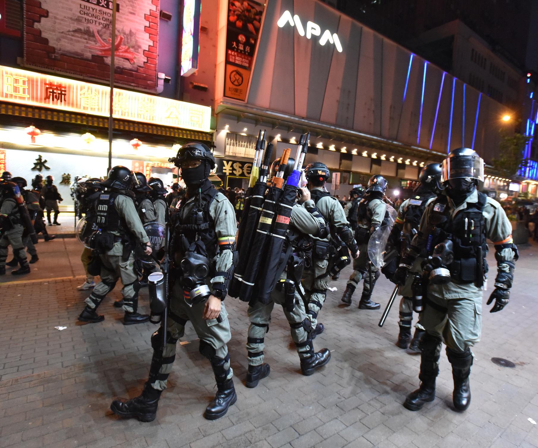 引述NBC女记者称被警非礼 记协谴责无理驱赶记者